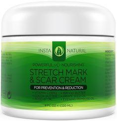 Stretch Mark Cream - For Stretch Mark Removal & Prevention - Moisturizing Body Cream Treatment