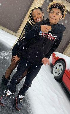 Matching Outfits Best Friend, Best Friend Outfits, Matching Couple Outfits, Matching Couples, Cute Black Couples, Black Couples Goals, Cute Couples Goals, Swag Outfits For Girls, Cute Swag Outfits
