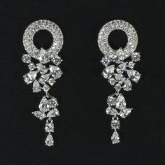 Tatiana earrings from Ciao Bella Jewellery ciaobellajewellery.com