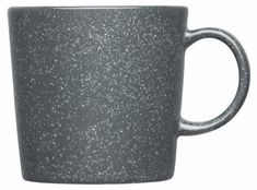 iittala Teema Mok - l - Dotted grey Grey Dinnerware, Grey Mugs, Danish Design Store, Minimalist Scandinavian, Scandinavian Mugs, Porcelain Mugs, Basic Shapes, Nordic Design, Mugs Set