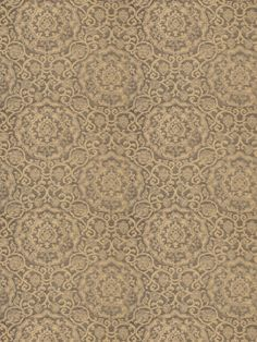 Brandele Metallic in color Burnished Gold is a spectacular design that reinterprets an early 20th Century Italian medallion damask into a chenille woven to emulate cut velvet. From Stroheim's Color Gallery - Brushed Metal collection.