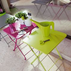 table d'appoint terrasse
