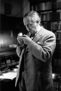 J.R.R. Tolkien. this man is probably my greatest personal hero. He was a linguist, created his own languages, was a historian, loved the earth, and simultaneously created both one of the greatest works of literature of all time and the entire genre of fantasy fiction as we know it today. I admire just about everything about this man.
