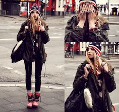 Rebel Fashion, Cute Fashion, Fashion Addict, Woman Fashion, Fashion Fashion, Mode Lookbook, Fashion Lookbook, Zara Cardigan, London Look