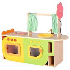 Kinderküche aus Holz  hochwertig