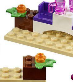 NEW LEGO Light Bluish Gray 2x1 Printed Slope Minifig C3