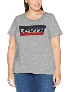 200a4fb8010443 Levi s T-Shirt für Damen in Übergröße