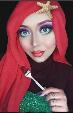 Make-up artist makes breathtaking transformation into Disney princesses