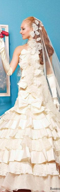 BArbie Bridal dress