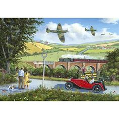 Spitfires All Wooden Jigsaw Puzzles