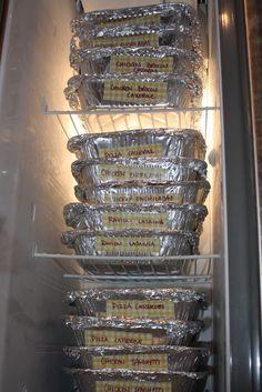 Freezer meals... 4 hours, 2 weeks of meals