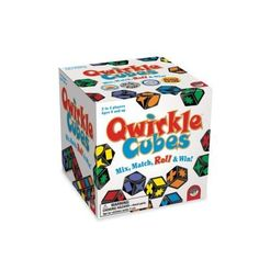 MindWare Qwirkle Cubes: GAMES THAT TEACH: Roll, Match, Score...Win! Qwirkle Cubes is playable from early ages up, allowing young children and older individuals alike to develop and hone their spacial recognition, planning, and problem solving skills. Plan, win, and learn simultaneously! FAMILY FAVORITE: Qwirkle Cubes is a fantastic game for families, as it can involve a wide range of ages, from children to adults. It only takes a few moments to explain, so new players such as extend...
