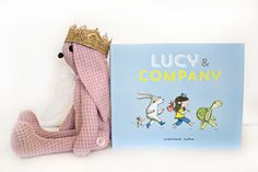 Lucy & Company by Marianne Dubuc Childhood is magical! I think that is partly because children are so full of curiosity and wonder and they take pleasure in the simplest things that can sometimes be taken for granted. This is a book that beautifully captures the simplicity and beauty of childhood and it's everyday adventures. When I read it, it brings back memories of my own childhood and I cannot help but smile.