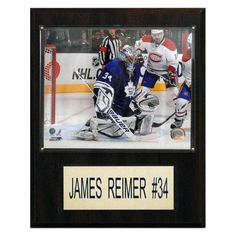 NHL 12 x 15 in. James Reimer Toronto Maple Leafs Player Plaque - 1215REIMER