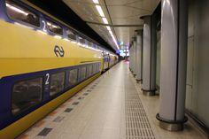 Schipol Airport (AMS) Train Station - Amsterdam, The Netherlands