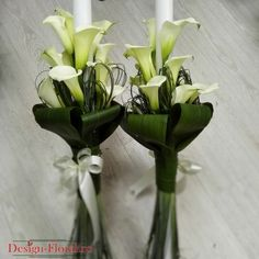 Lumanari nunta cale albe Calla Lillies, Scented Candles, Cale, Plants, Babies, Weddings, Design, Home Decor, Dresses