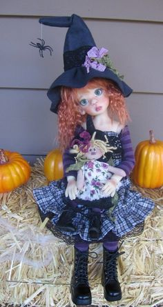 This photo was uploaded by deenascountryhearth.  - Beautiful doll by Kaye Wiggs