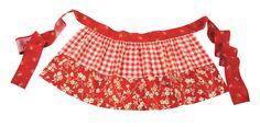 Annies Apron--vintage half apron tutorial