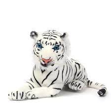 Soft Doll Artificial White Tiger Stuffed Animal Toy,Tigerfnsales – Tigerfn Shop