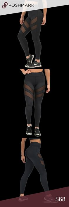 DOYOUEVEN athletic leggings Mesh leggings from Australian athletic wear brand, DO you even. Never worn. Size XS. Can fit up to a small. Similar to LULULEMON & GYMSHARK. Do you even Pants Leggings