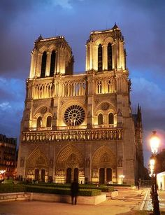 Notre Dame in Paris... sang here in high school. so beautiful. i will go back one day.