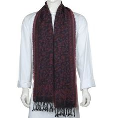 Wool Scarf Men Indian Clothing Accessories (Apparel)  http://www.picter.org/?p=B004HOICQE