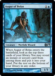 Augur of Bolas (Creature - Merfolk Wizard)