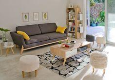 El living que siempre quisiste, con los muebles de tus sueños. #Easy #Muebles #Living