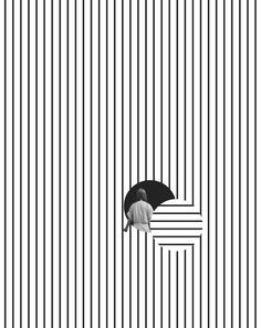 Tyler Spangler (California, USA) / Graphic / Design / Pattern / Composition / Minimalist / Black / White / Editorial / Fashion / Lines / Line Art / Movement / Contrast