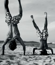 family dad son yoga on the beach. Dad Son, Father And Son, Tel Pere Tel Fils, Family Yoga, Yoga For Kids, Happy Fathers Day, Yoga Inspiration, Fitness Inspiration, Kids And Parenting