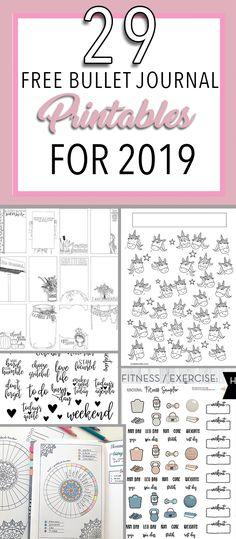 29 Free Bullet Journal Printables for The best free printables for your planner, journal and bullet journal. 29 Free Bullet Journal Printables for The best free printables for your planner, journal and bullet journal.