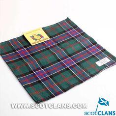 Clan Sinclair Pocket Square Handkerchief: