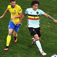 Marcus #Berg #Svezia contro Axel #Witsel #Belgio