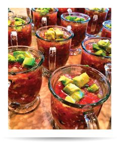 Easy Gazpacho with Avocado