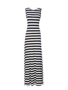 SCOOP KNIT MAXI TANK DRESS WITH LOW BACK- I would love this if it was a deep V neck