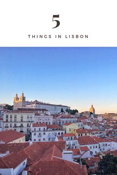 First 5 THINGS not to miss in Lisbon once travelling here :) My travel tips and trick. www.ejnets.com #lisbon #lisboa #portugal #traveltips #tips #travelportugal #travelblogger