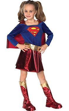8f319d103 From 16.85 Rubie\'s Official Supergirl Kids Fancy Dress Girl\'s Superhero