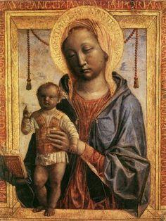 Vincenzo Foppa:  Madonna of the Book