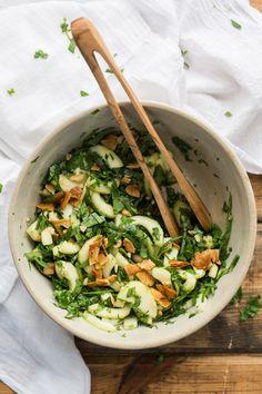 Cucumber Satay Crunch Salad