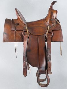 Montgomery Ward Stock Saddle - Old West Events