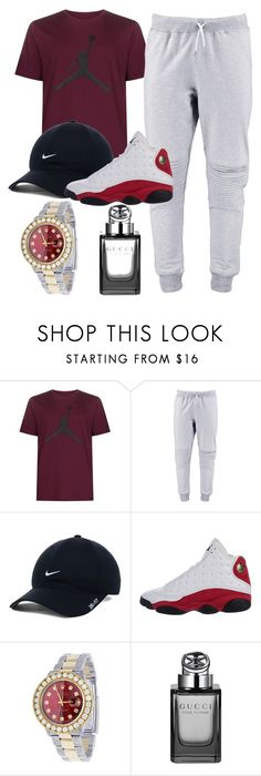 """SnaiLords Male Side"" by melly-mony ❤ liked on Polyvore featuring NIKE, Rolex, Gucci, men's fashion and menswear"