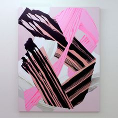 Noël Skrzypczak, Mountain Painting 2014 Courtesy the artist and Neon Parc Gallery Of Modern Art, Museum Of Modern Art, Abstract Drawings, Abstract Oil, Mountain Paintings, Minimalist Art, Pictures To Paint, New Art, Cool Art