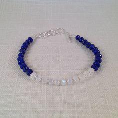 RESERVED FOR CAROLYN  Lapis Lazuli Rainbow by JNayJewelry on Etsy