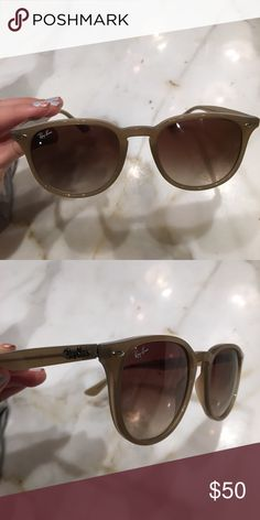 85882f8a07 Ray Bans Authentic Sold with case. About a year old but no scratches! Comes  with casing!