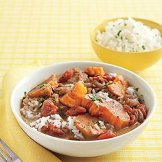 Slow Cooker Sweet Potato-Peanut Stew #recipe