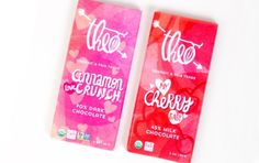 Theo Chocolate Valentine's Day Bars by Marisol Ortega at Coroflot.com