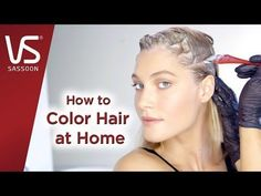 Salonist Hair Color Tips: Mixing Hair Color Shades Mixing Hair Color, Vidal Sassoon Hair Color, Colored Hair Tips, Hair Color Shades, Diy And Crafts, Youtube, Youtubers, Youtube Movies, Hair Color Tips