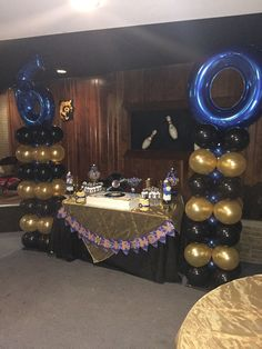 Party Ideas For Dad 60th Motown Birthday Balloon Columns