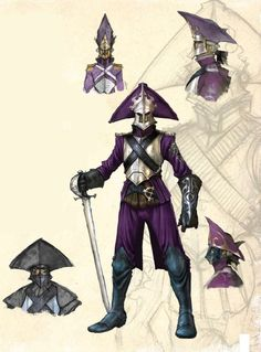 Elite soldier concept from Fable III. Character Concept, Character Art, Concept Art, Character Design, Character Ideas, D D Characters, Fantasy Characters, Fable 2, Cute Monsters