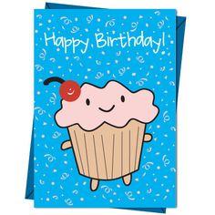 Birthday cupcake www.toowrappedup.com